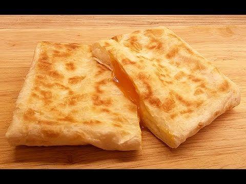 Пироги из лаваша с сыром и яйцом (по мотивам хачапури по ...