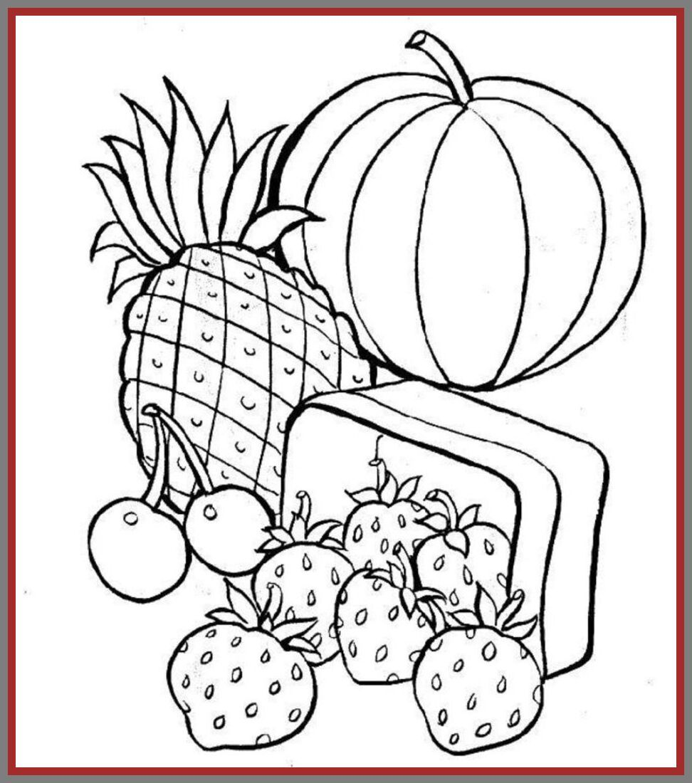44 Reference Of Kids Food Printable In 2020 Fruit Coloring Pages Food Coloring Pages Cool Coloring Pages