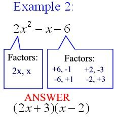 Factoring Polynomials refers to factoring a polynomial into ...