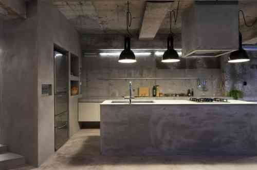 Photo cuisine avec plan de travail moderne en 65 idées