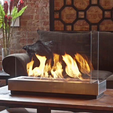 Brasa Preston Ethanol Tabletop Fireplace Indoor Fireplace