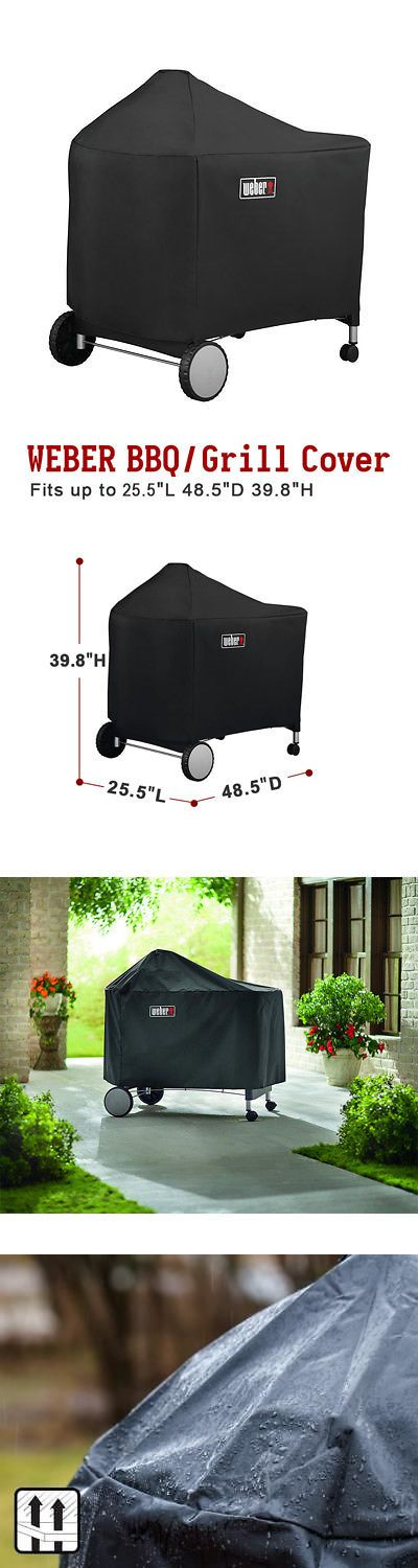 Barbecue And Grill Covers 79686 Weber 7152 Grill Cover With Storage Bag For Weber Performer Premium And Deluxe B Bag Storage Cover Baby Car Seats