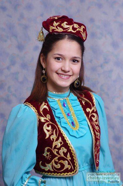 Порно фото наряды татарок секс
