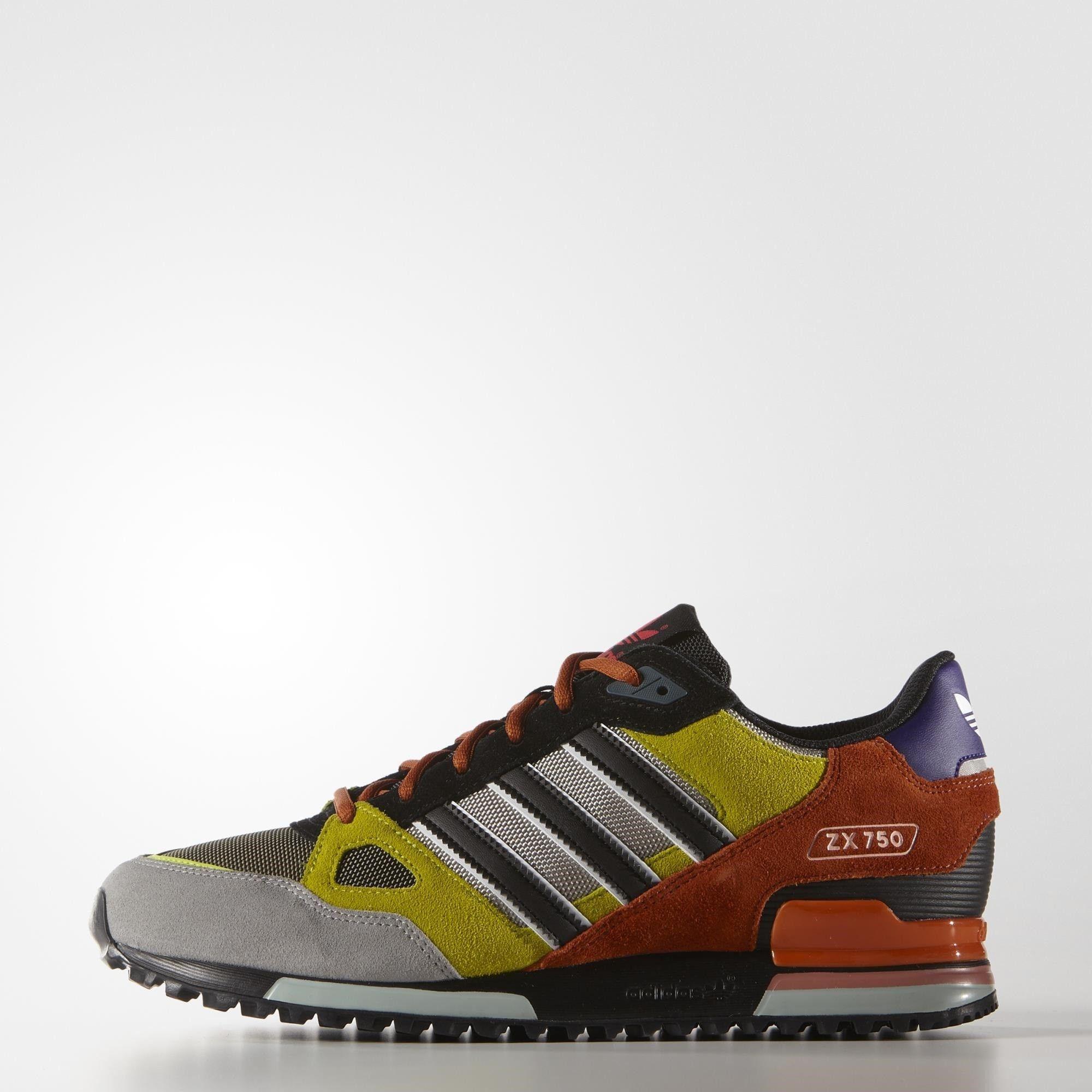 low priced 2ccd7 5cf43 Adidas Men's Originals ZX 750 Shoes | GJSportLand | Adidas ...