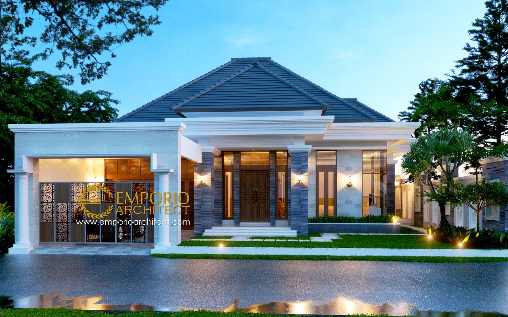Jasa Arsitek Medan Desain Rumah Bapak Hilman Lubis Jasa
