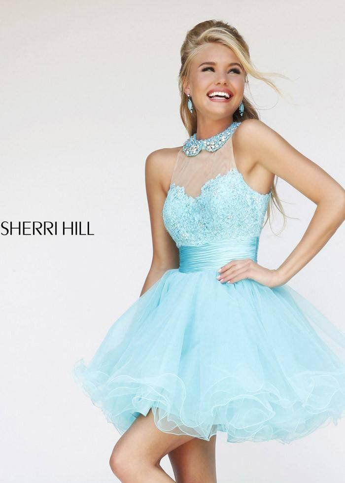 Short Fluffy Homecoming Dresses 2015