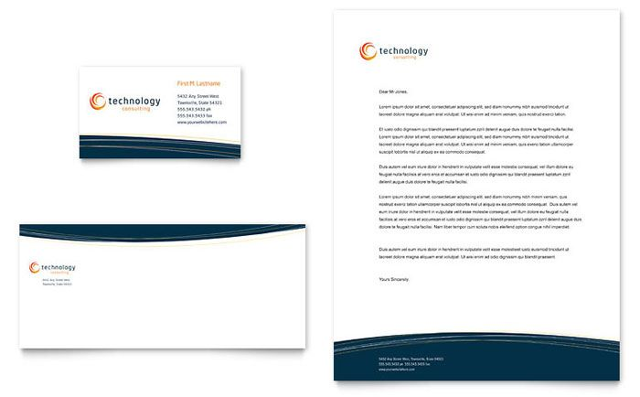Template Desain Kop Surat dan Amplop Download Free PDF – Stationery Templates for Designers