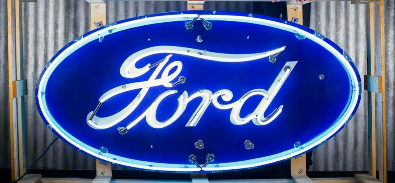 Ford Neon Sign Neon Signs Neon Signs Neon Signs