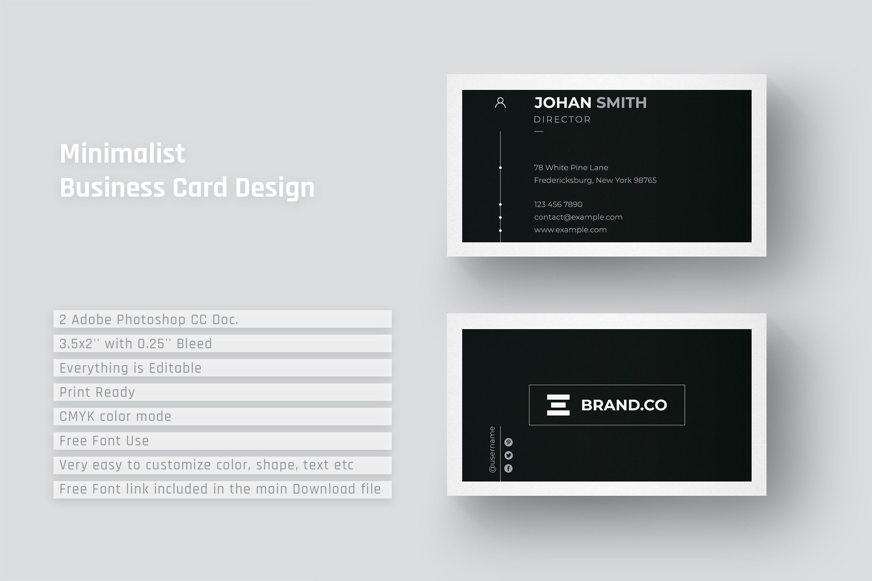 Minimalist Business Card Design Business Card Design Simple Simple Business Cards Minimalist Business Cards