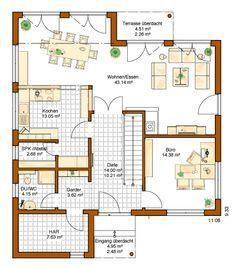 Traumhaus modern grundriss  RENSCH HAUS - Plus-Energie-Haus - Musterhaus Avenio Garderobe ...