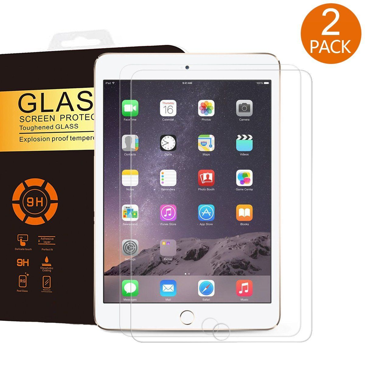 For 2018 New iPad Pro 12.9inch Ultra Clear Screen Protector Anti-Bubble 3-Pack