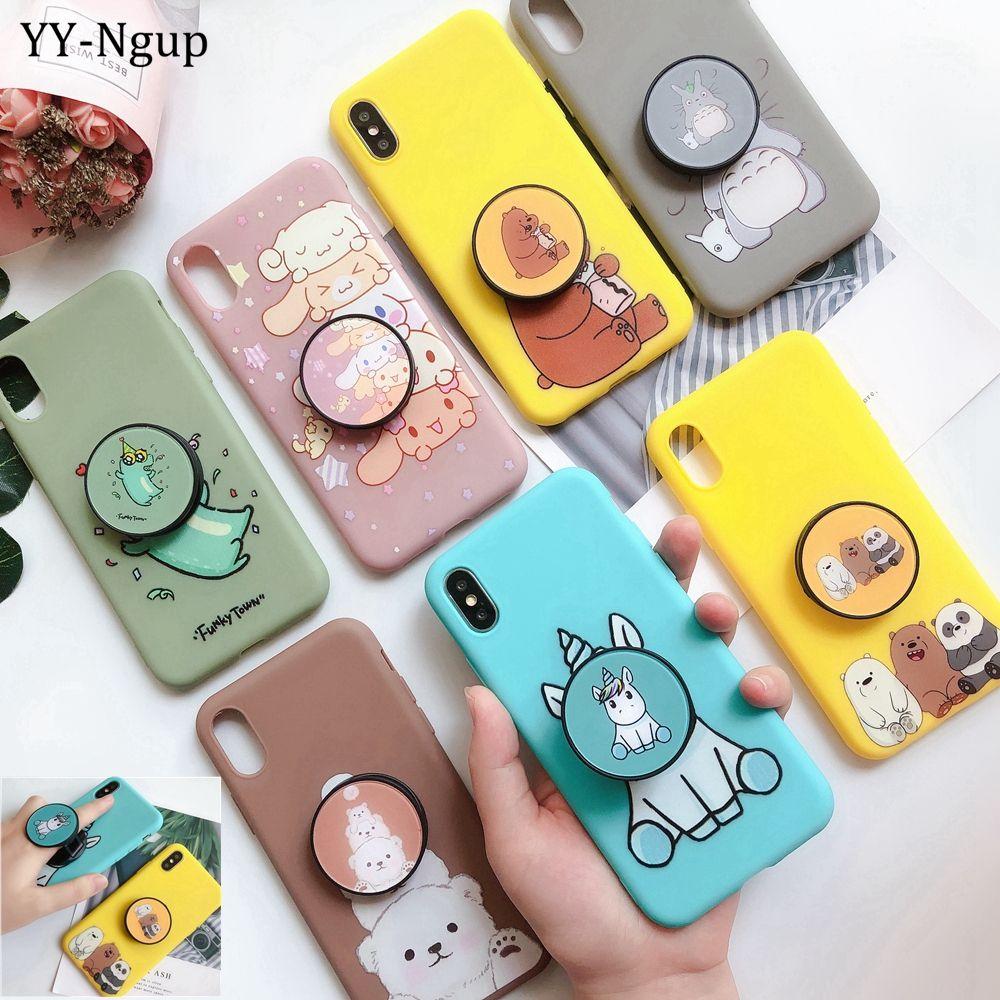 Case on Huawei Y5 Y6 Y7 Y9 2019 Case Cover Kawaii Unicorn Phone ...