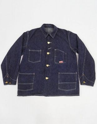 5a5cd82a605 Vintage 1920 s CARHARTT Chore Coat