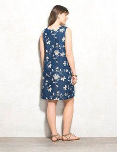434eb6ff7d WESTPORT Plus Size Floral-Embroidered Denim Dress - alternate image ...