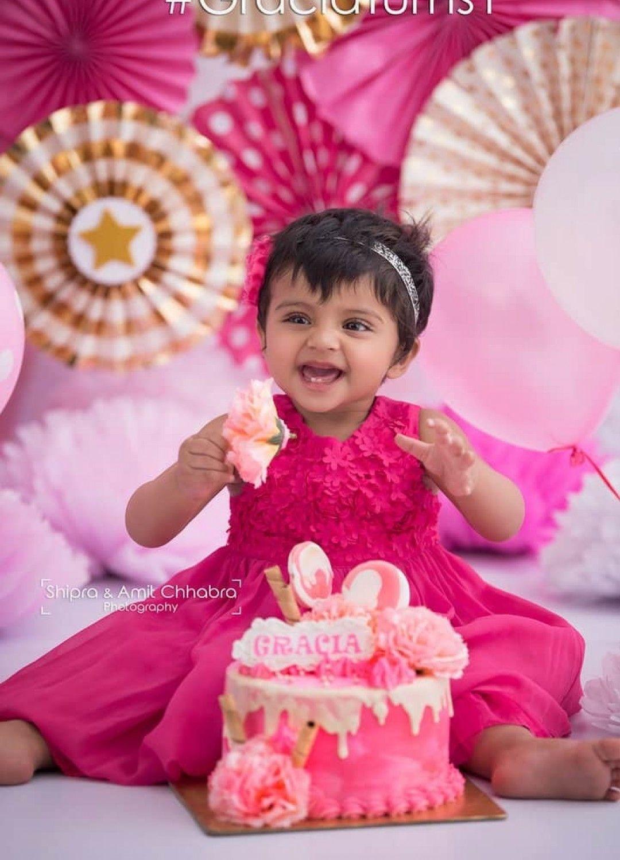 Shipra Amit Chhabra Photography Cake Smash Photoshoot