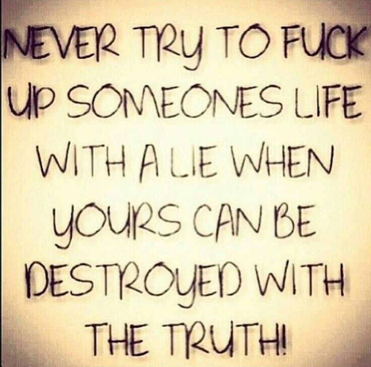Quotes About Liars And Karma Via V Sheen Karma Quotes