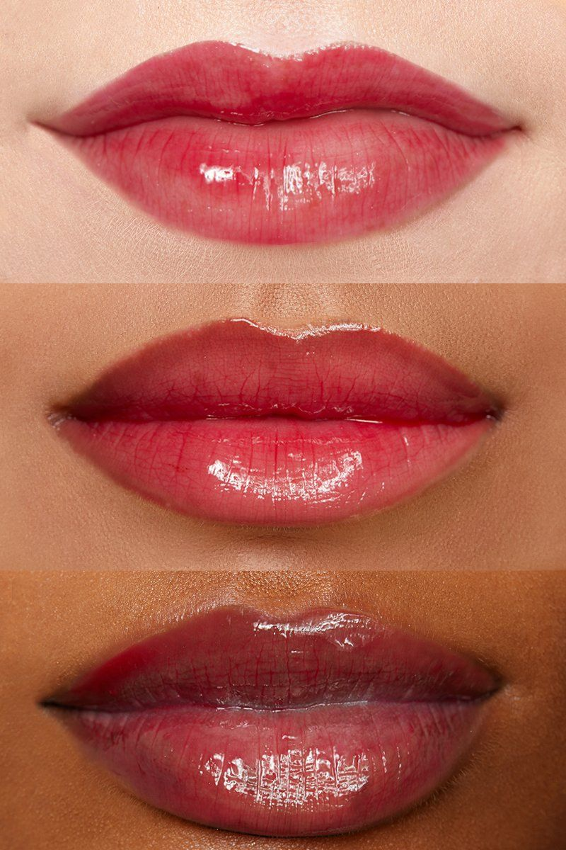 Imaginarium Sheer Strawberry Ultra Glossy Lip Lip Swatches