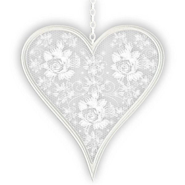 Ms Lace Heart With Drop Shadow Png Lace Heart Lace Vintage Lace