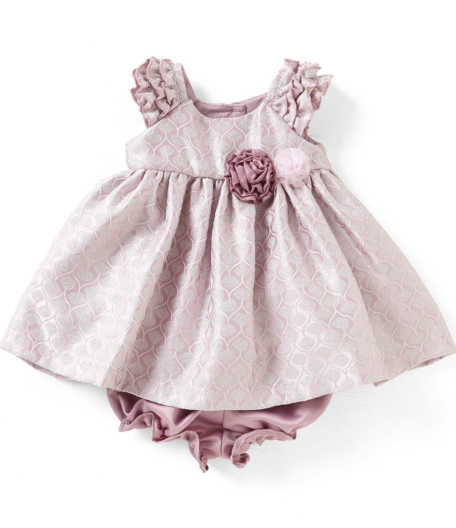 Laura Ashley London Baby Girls Newborn24 Months Brocade Patterned