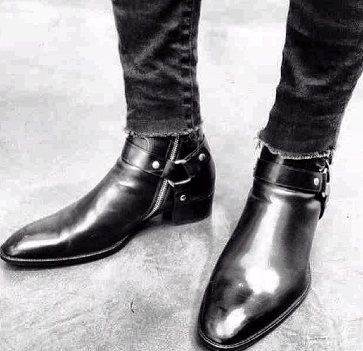 7f078e0afde SLP WYATT BOOTS | Shoes. | Shoes, Fashion boots, Saint laurent boots