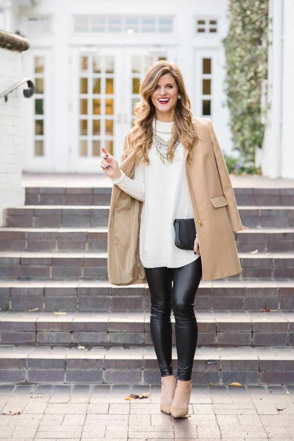 b6177dcc996 What to Wear with Leather Leggings