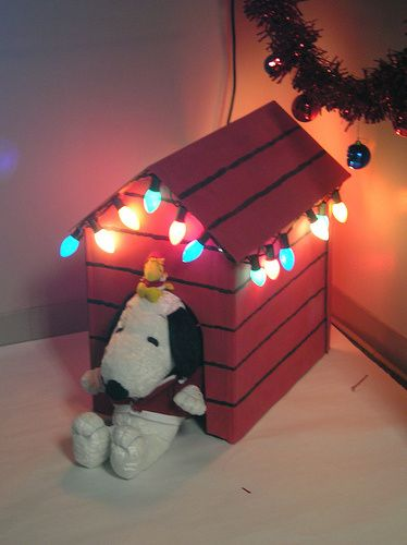 office christmas decorations Snoopy, Holidays and Xmas