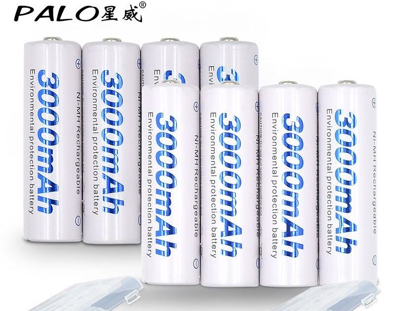 On Sale 8 Pcs Aa Battery Batteries 1 2v Aa 3000mah Ni Mh Pre Charged Rechargeable Battery 2a For Camera Rechargeable Batteries Battery Batteries