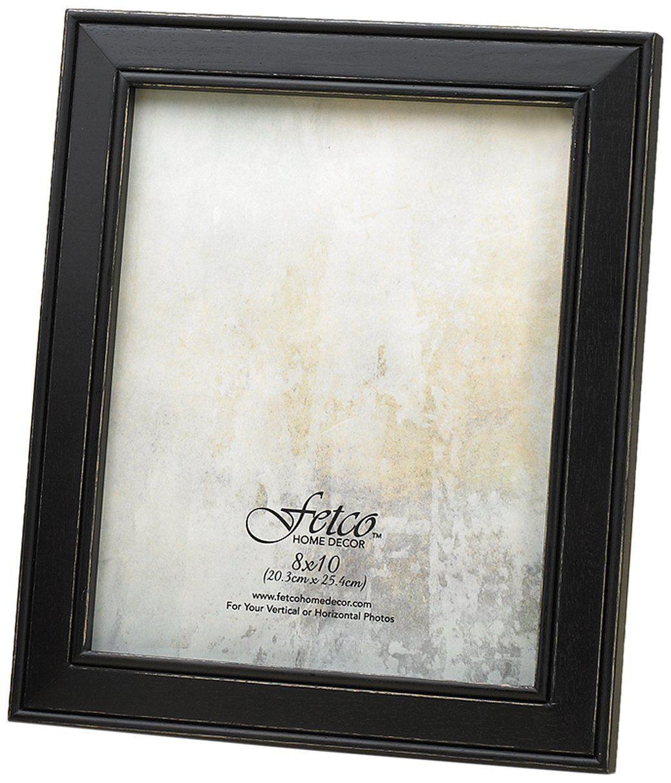 Fetco Home Décor F464680 Longwood Frame, Rustic Black -- Want ...