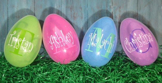 Daily Boutique Deals Personalized Easter Personalized Easter Eggs Personalized Easter Gifts