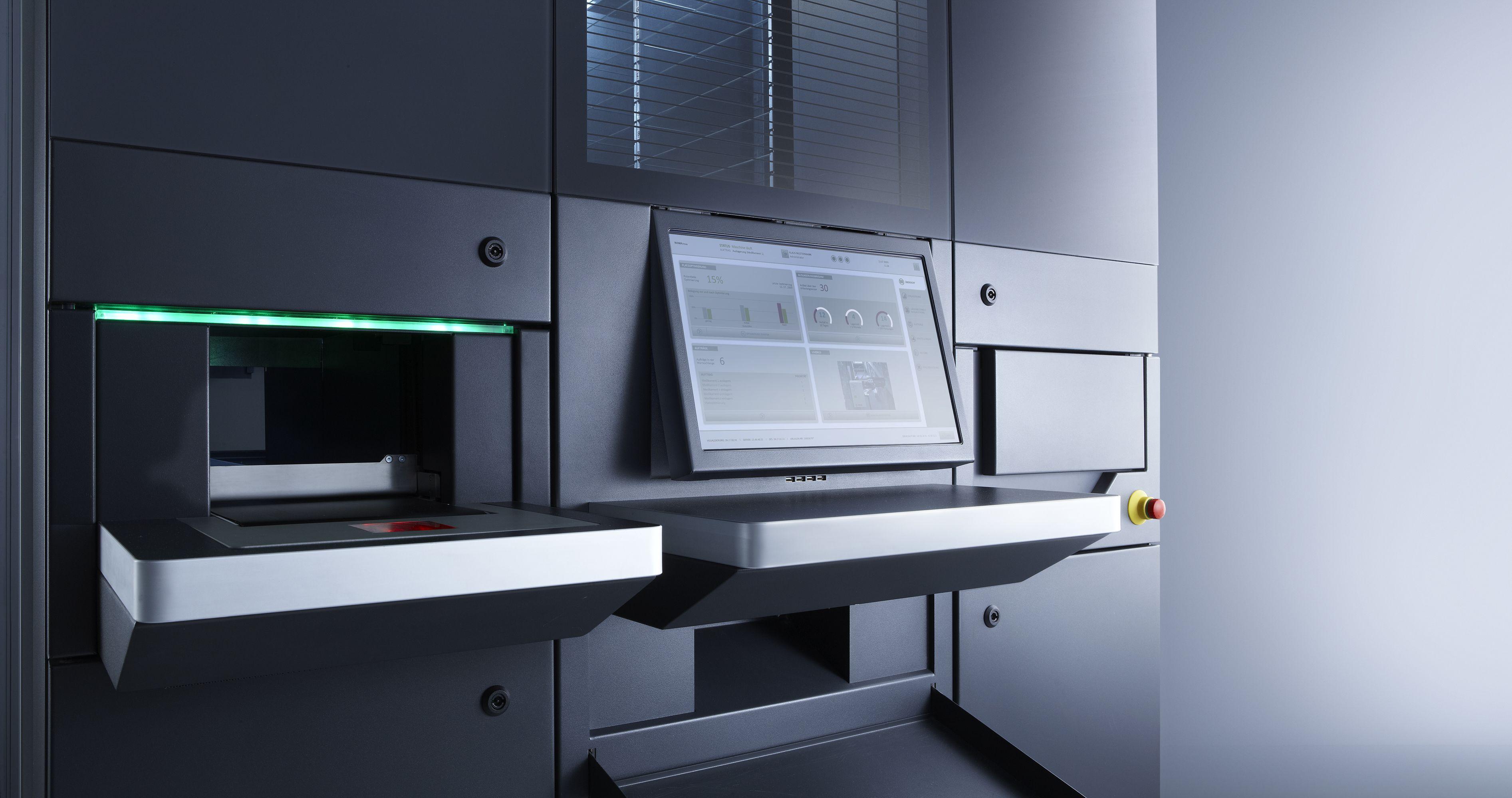 Rowa Vmax Medical design, Machine design, Locker storage