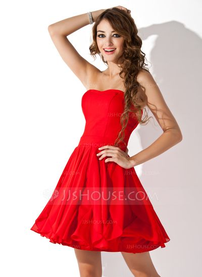 Prom Dress With Beading Cascading Ruffles at an affordable