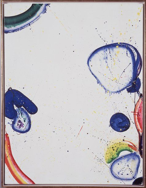 Cave to Canvas, Sam Francis, Untitled, 1963