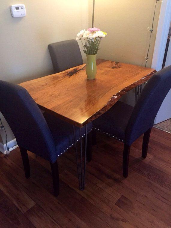 Your Custom Listing 5ft Live Edge Cherry By Woodworksbyjared Dining Table Live Edge Dining Table Custom Coffee Table