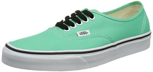 Amazon | Vans Authentic Men's Shoes Green True White 10 US Men |  Fashion Sneakers