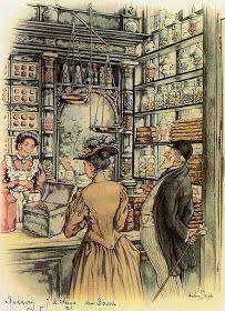 Illustration by Dutch Artist Anton Pieck