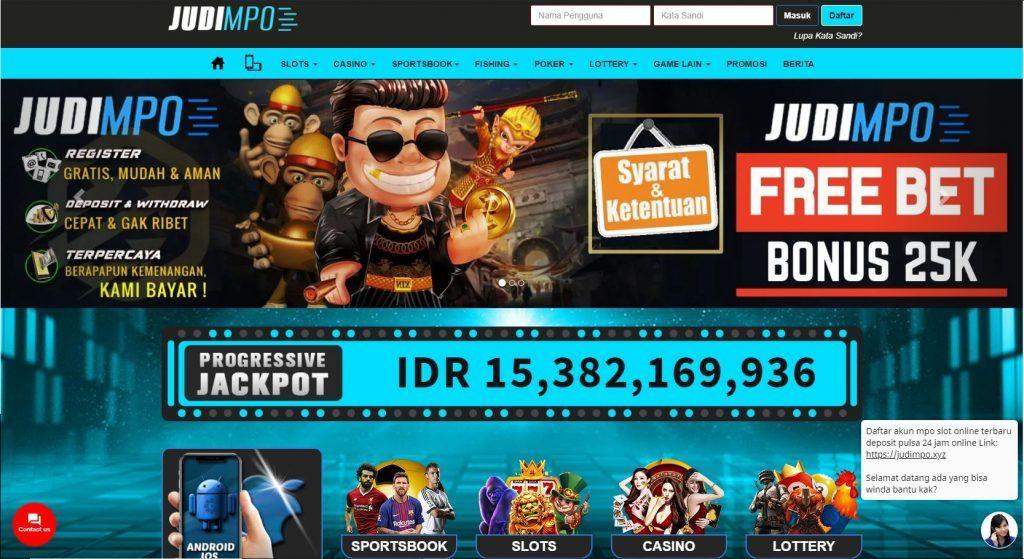 Daftar Agen Judi Slot Online Terpercaya 2021