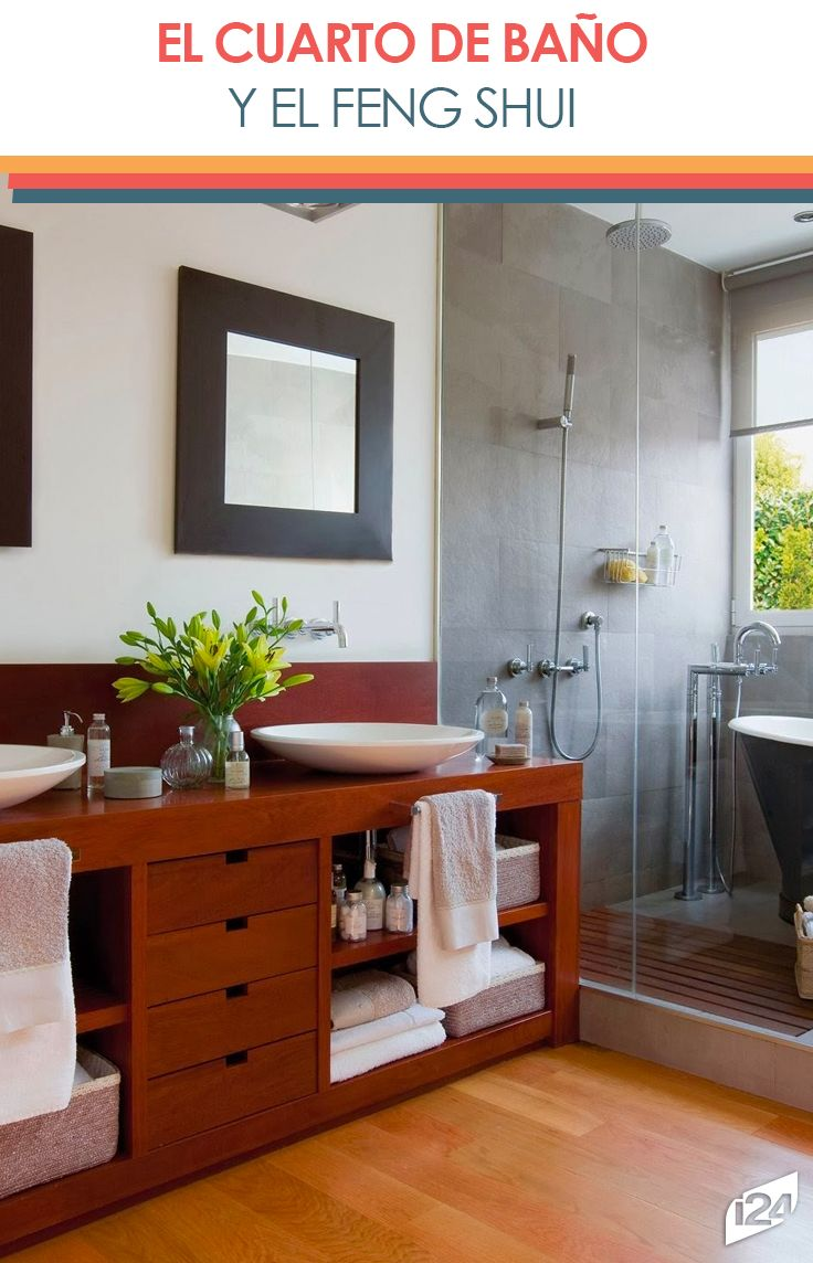 Tips para atraer la mejor energía a tu cuarto de baño #FengShui ...