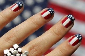 Love These Nails For July 4th Nail Art Pinterest Makeup