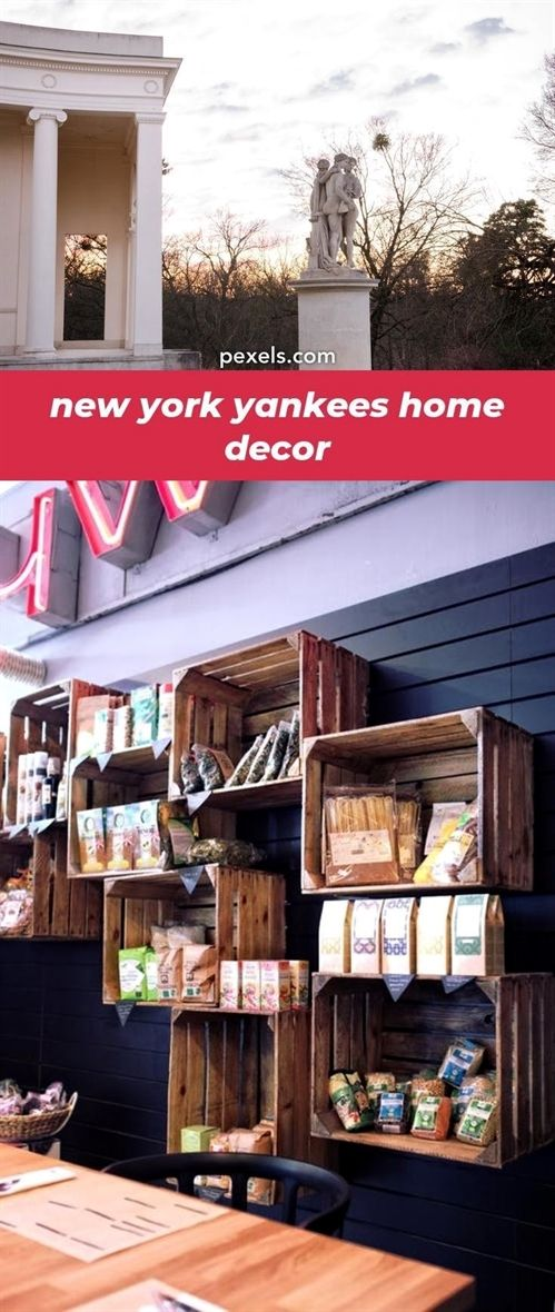 New york yankees home decor pictures and ideas birthday decoration at with  inexpensive pinte also rh pinterest