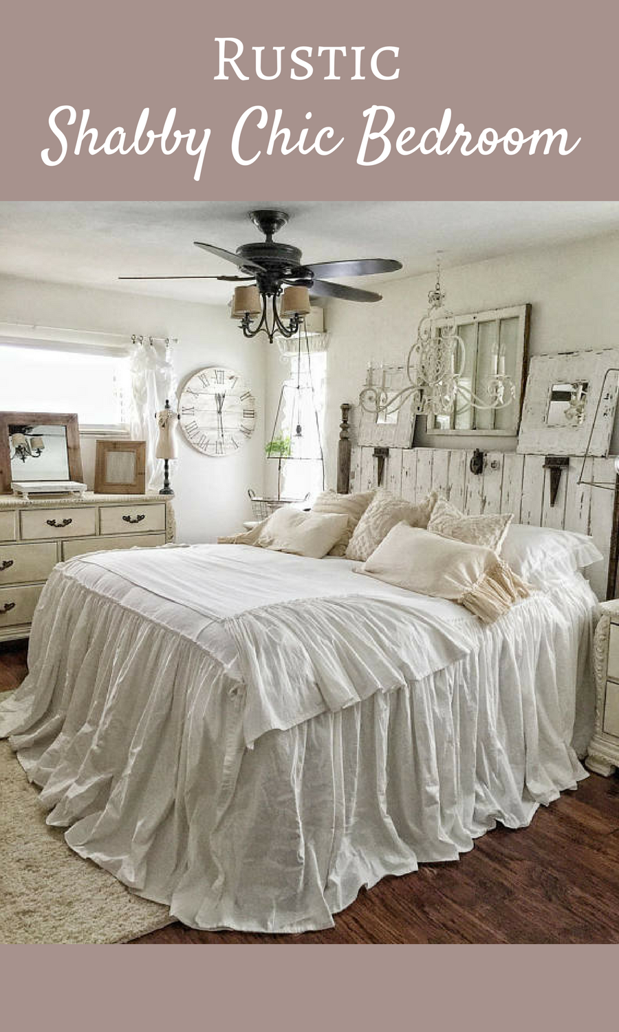 17 Spectacular Shabby Chic Bedroom Designs That You're ...