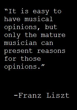 Franz Liszt Quote Zitate Musik