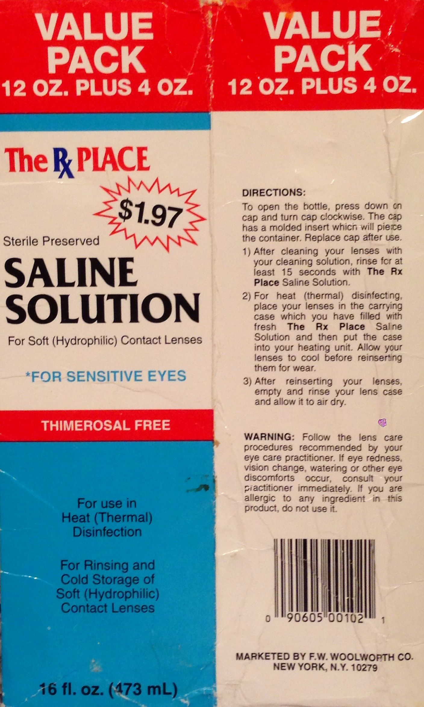 The Rx Place and The Rx Place Drug Mart comprised a chain