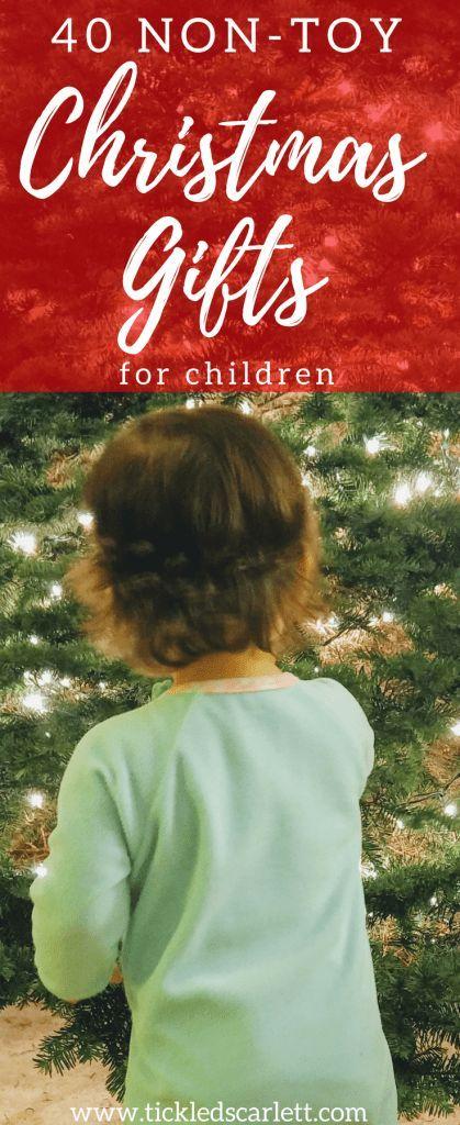 40 Non-Toy Christmas Gifts for Children - Tickled Scarlett Blog