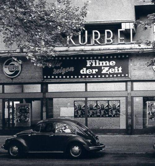 """Charlottenburg. Cinema """"Die Kurbel"""", 1973."""