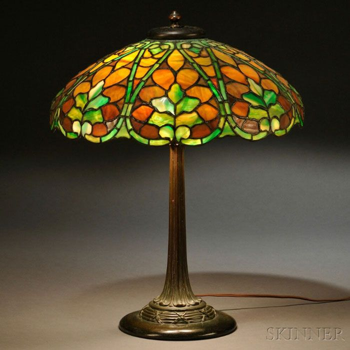 Duffner Kimberly Leaf Table Lamp Stained Glass Lamp Shades Glass Lamp Stained Glass Table Lamps