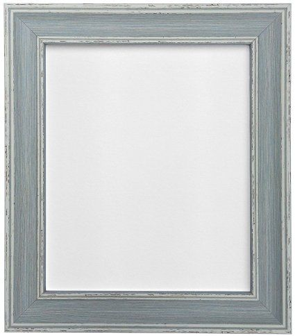 Frames By Post AP-4620 Vintage Distressed Blue Picture Photo Frame ...