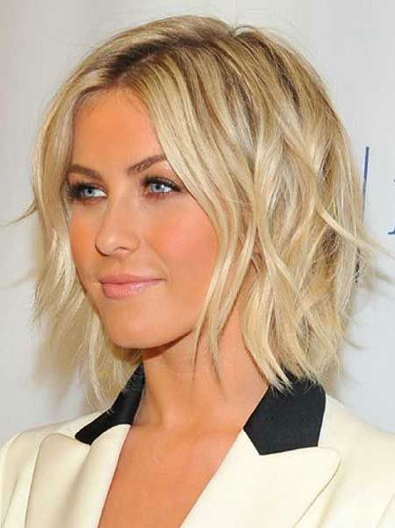 Short Hairstyles For Fine Wavy Hair Fine Curly Hair Hair Styles Short Wavy Hair