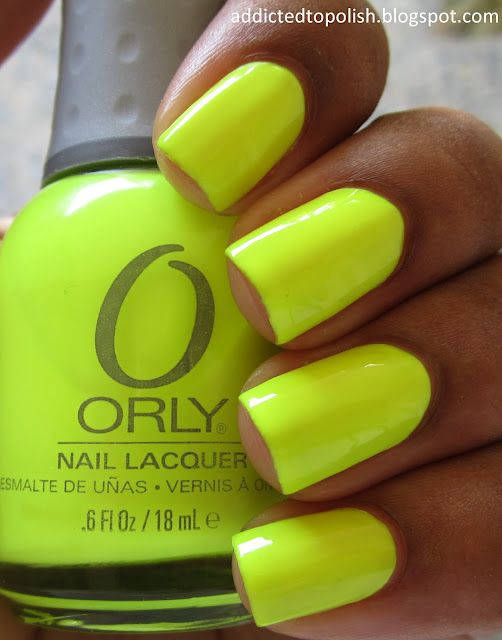 Addicted to Polish: Orly Glowstick - homg | For Nails | Pinterest ...