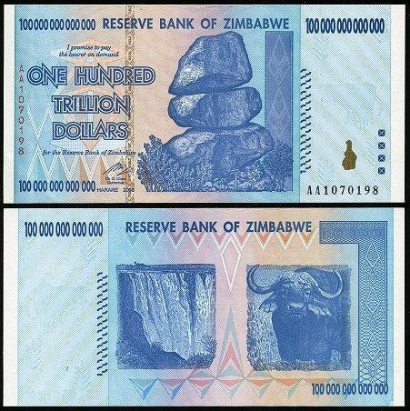 One Us Dollar Z 35 Quadrillion As