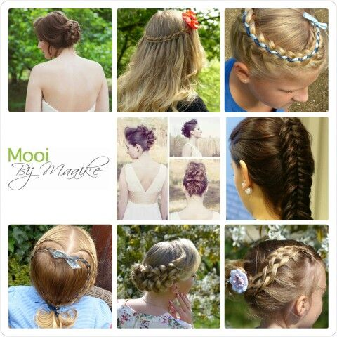 Voor alle bruids/gala en communie kapsels kijk op www.mooibijmaaike.nl